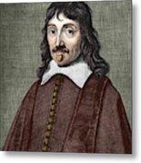 Portrait Of Descartes Metal Print
