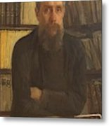 Portrait Of Kostichev Metal Print