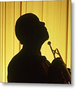 Portrait Of Louis Armstrong Metal Print