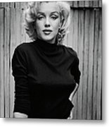 Portrait Of Marilyn Monroe Metal Print