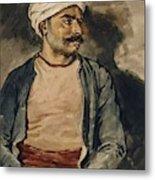 Portrait Of Mustapha Metal Print