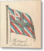 Portugal Particular, 1838 Metal Print
