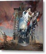 Post-tribulation Rapture Or Seventh Horseman Of Apocalypse Metal Print