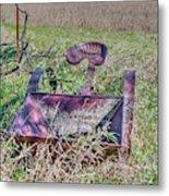Potatoe Planter Metal Print