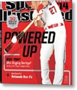 Powered Up 2014 Mlb Baseball Preview Issue Sports Illustrated Cover Metal Print