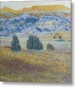 Prairie Realm Of West Dakota Metal Print