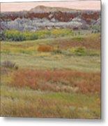 Prairie Reverie On The Western Edge Metal Print