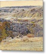 Prairie Slopes Reverie Metal Print