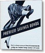 Premium Bonds Metal Print