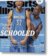 Prepare To Get Schooled, The Education Of The Games Next Sports Illustrated Cover Metal Print