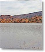 Prescott Arizona Watson Lake Hills Mountains Rocks Water Grasses Cloudy Sky 3142019 4920 Metal Print