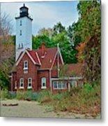 Presque Isle Lighthouse Metal Print