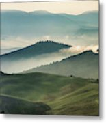 Pretty Morning In Toscany Metal Print