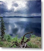 Priest Lake Light Metal Print