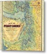 Puget Sound Metal Print