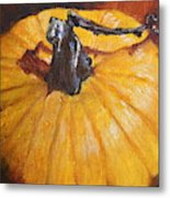 Pumpkin Delight Metal Print
