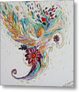 Pure Abstract #4. Trumpeting Angel Metal Print