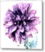 Purple Blend Petals Two Metal Print