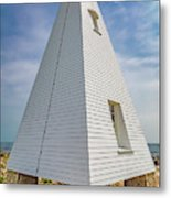Pyramid Bell Tower Maine Metal Print