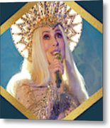 Queen Cher Metal Print