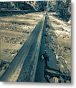 Rail Away  Metal Print