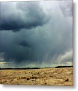 Rain Down On Parched Fields  Metal Print