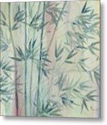 Rainforest Bamboo Metal Print