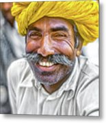 Rajput High School Teacher Metal Print