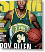 Ray Allen: The Color of Money SLAM Cover Metal Print