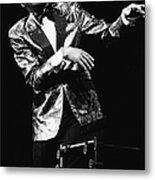 Ray Charles Dances On Stage Metal Print