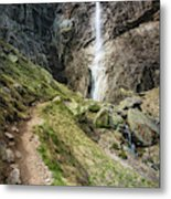 Raysko Praskalo Waterfall, Balkan Mountain Metal Print