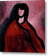 Red Blanket Metal Print