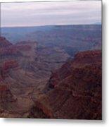 Red Grand Canyon Metal Print