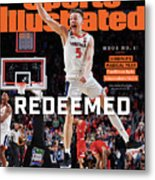 Redeemed University Of Virginia, 2019 Ncaa Champions Sports Illustrated Cover Metal Print