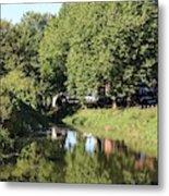 Reflections Of Bridgewater Canal - 1 Metal Print
