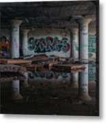 Reflections Of Decay Metal Print