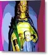 Religious Vision Metal Print