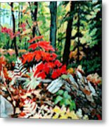 Resilient Maple Metal Print
