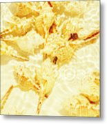 Resort Ripples Metal Print
