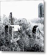 Retired John Deere Tractor 1 Metal Print