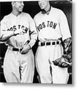 Rick And Wes Ferrell Of The Red Sox Metal Print