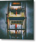 Ride The Ferris Wheel Metal Print