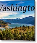 Riffe Lake, Washington Metal Print