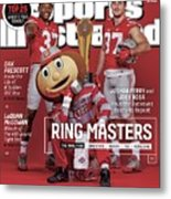 Ring Masters 2015 College Football Preview Issue Sports Illustrated Cover Metal Print