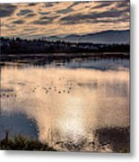 River Of Clouds Metal Print