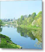river tweed at Coldstream Metal Print