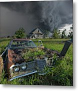 Road's End  Metal Print