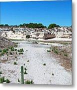 Robben Island Quarry Stone Pile Metal Print