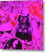 Robotic Rebellion Metal Print