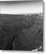 Rock Formations On The Edge Metal Print